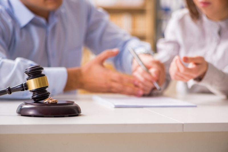 Scheidungsberatung Gericht